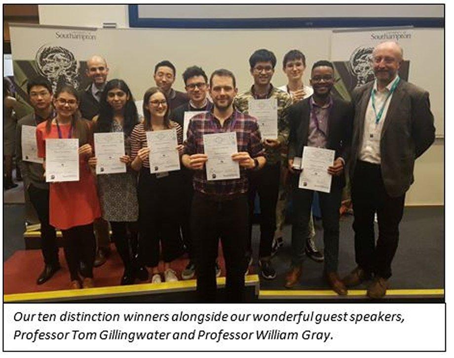 NUNC Distinction Winners