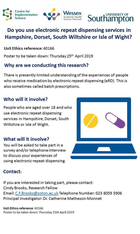 eRD Research Poster