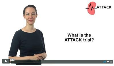 Video to describe the ATTACK trial