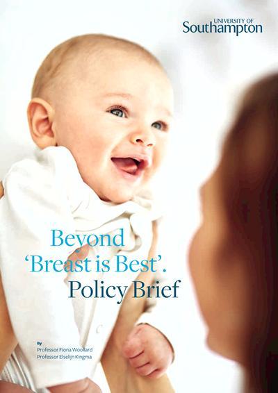 Beyond 'Breast is best'  policy brief