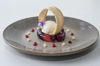A delicate dessert