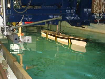 experimental hydrodynamics testing