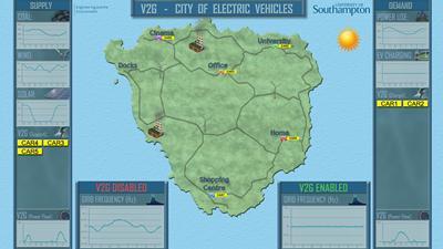 V2GCity Map