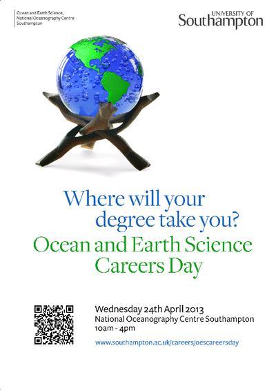 Ocean & Earth Sciences Careers Day 2013
