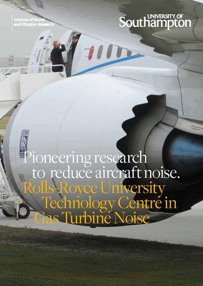 Read the Rolls-Royce Technology Centre in Gas Turbine Noise
