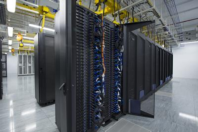 Switching on the Supercomputer