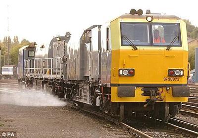 The pressure washer train