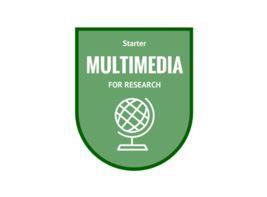 Multimedia badge