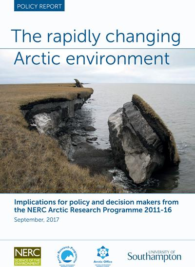 Changing Arctic cover image