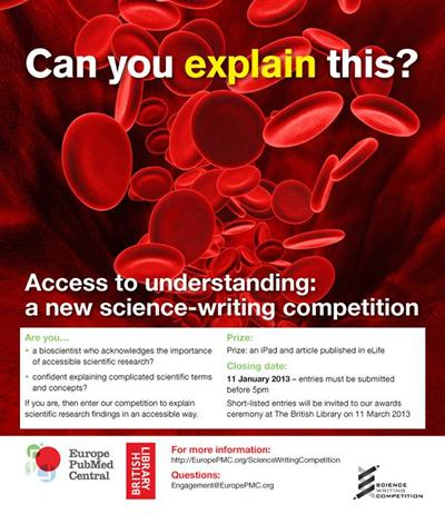 Science-writing competition