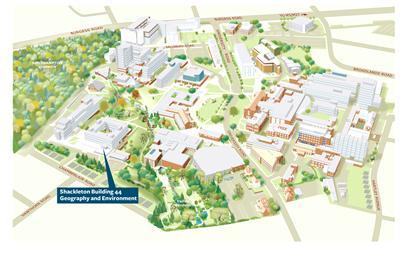 Order University Campus maps