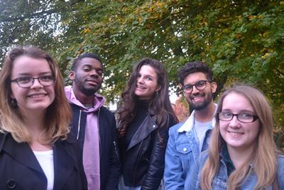 The 2017/18 Student Fundraising Supervisor team