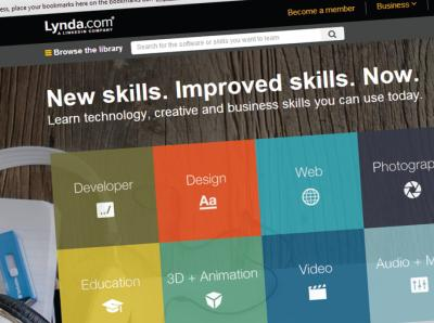 Learn with Lynda