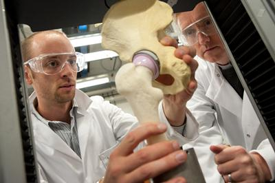 Joint venture: working in partnership to develop a unique hip replacement