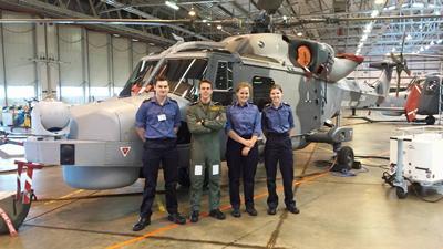 Toni Harding of Thunderer Squadron