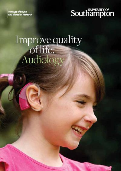 Find out more about Audiology at Southampton