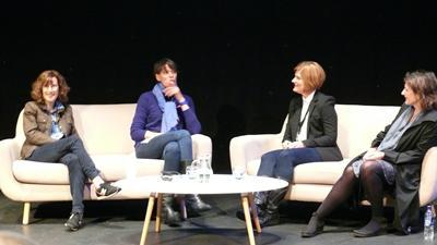 Screenplay Shetland Film FestivalShelley and Linda interview Joanna Hogg and Clio Barnard at Screenplay in Shetland