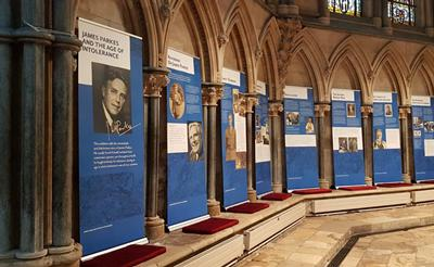 The Parkes Exhibition in Lincoln Cathedral