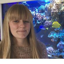 Photo of Elin Thomas, MSci Marine Biology, final year