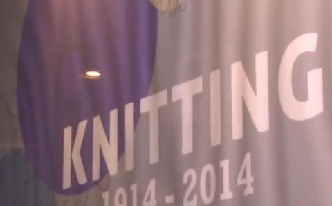 Knitting 1914 -2014 exhibition