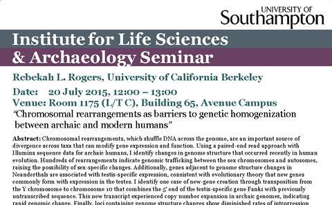Seminar Flyer 20 July 2015