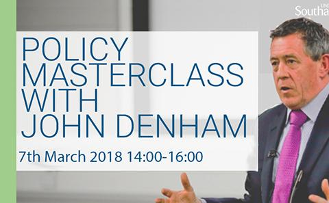 Policy Master Class