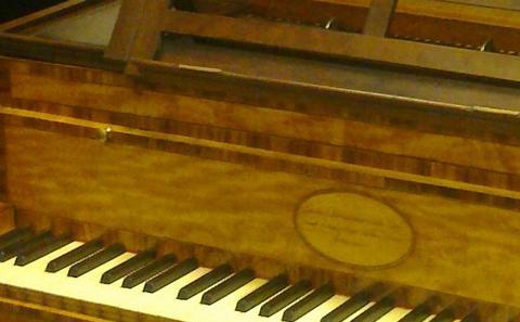 1796 Broadwood piano