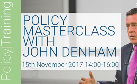 Policy Masterclass