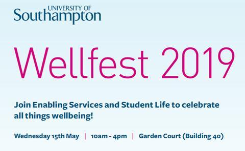 Wellfest poster
