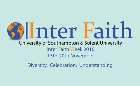 Inter Faith Week 2016