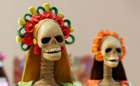 Day of the Dead's faces