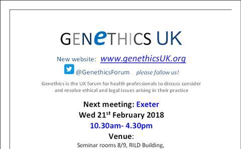 Genethics Forum