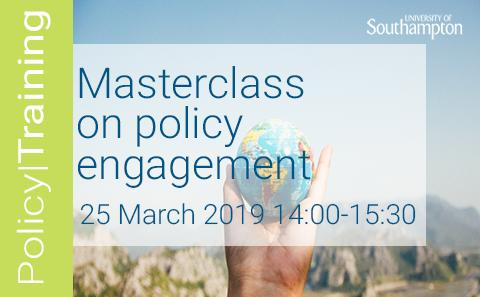 masterclass on policy engagement