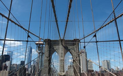 Picture of Brooklyn Bridge, NY