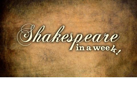 Shakespeare in a Week