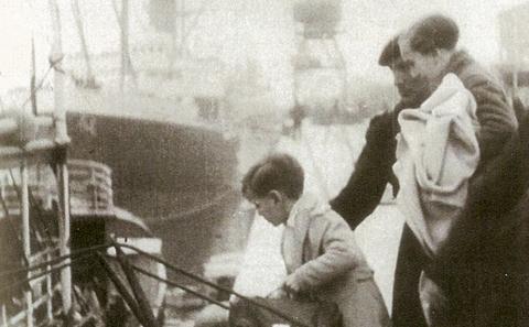 Basque child refugee event