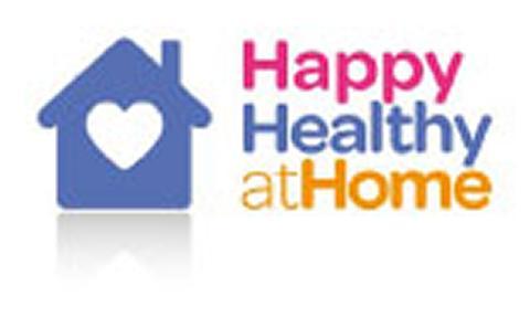 Happy Healthy at Home Logo Image