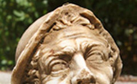 Head found at Portus