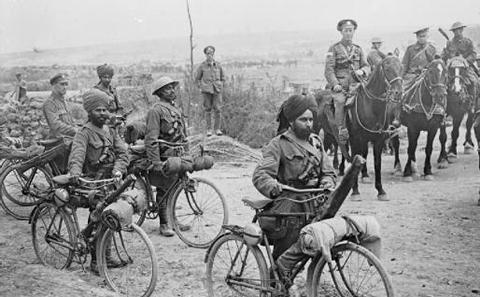 Indian Bicycle Troops