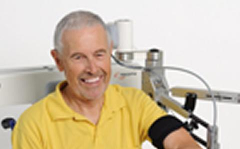 upper arm in stroke