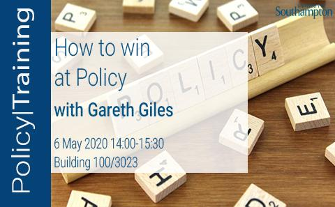 How to win at policy
