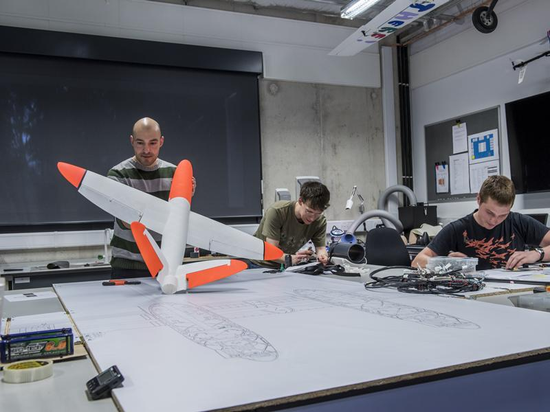 SULSA in the UAV research laboratory