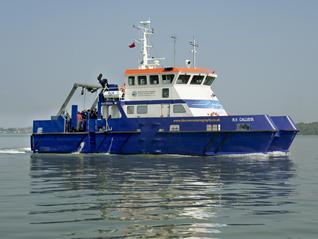 Callista on Southampton Water