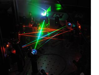 Laser table