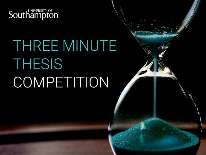 Three Minute Thesis Competition 2020