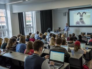 Students at a Film Seminar