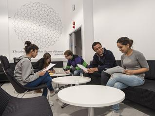 Students in Maths Student Centre