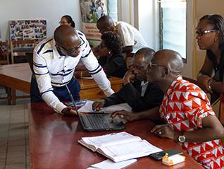 Caption photo courtesy of CENAP (Centre d'Alertes et de Prévention de Conflits, Burundi)