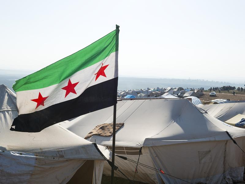 Real world issues Syrian flag