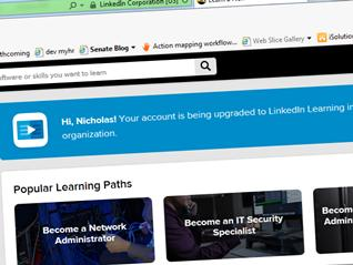 Our upgrade to LinkedIn Learning